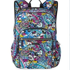 NWT Iconic Campus Backpack Vera bradley Disney